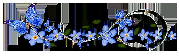 разделитель цветы